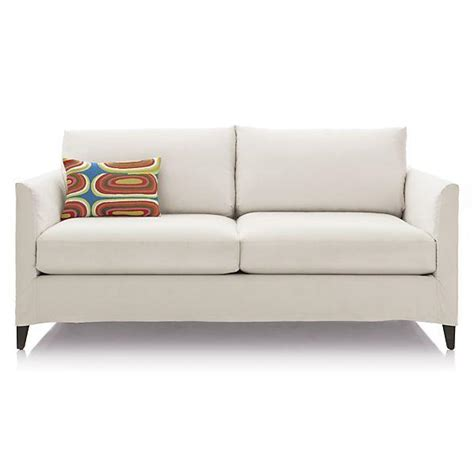 crate and barrel oasis sofa slipcover for oasis sofa crate barrel