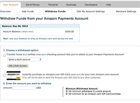 Amazon Gift Card To Bank Account - amazon payments ends today deals we like