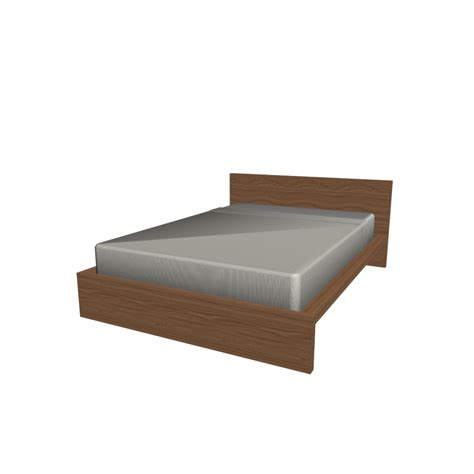 malm bed frame 140x200cm design and decorate your room in 3d