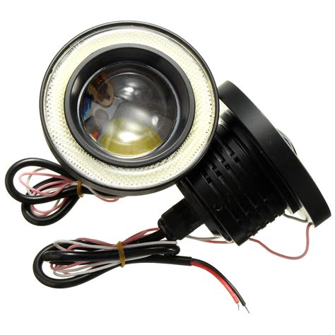 3 fog lights 2pcs 3 5 inch led fog light projector