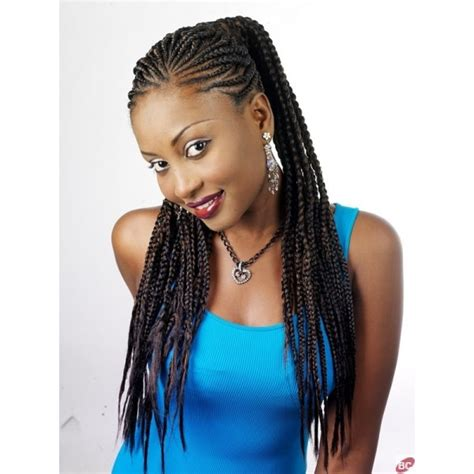 Charmant Salon De Coiffure Crochet Braids #8: Nattes-collees-avec-meches-super-magic-.jpg