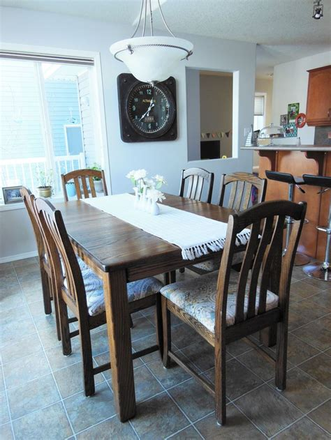 refinished dining table best 25 refinished dining tables ideas on
