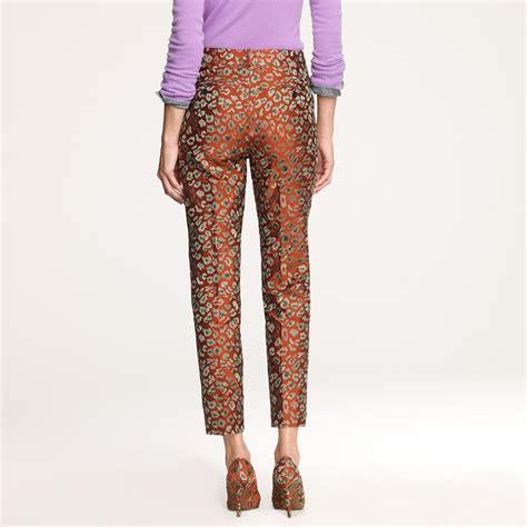 Fashion Bag Batam Import Coach Bb 2011 3 j crew caf 233 in leopard jacquard in brown lyst