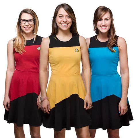 Click Dress by Trek Tng Dress Exclusive Thinkgeek