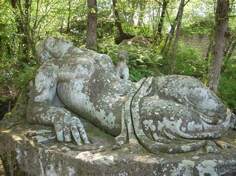 giardino dei mostri viterbo parco dei mostri di bomarzo