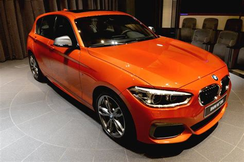Bmw Orange by Valencia Orange Bmw M135i On Display At Abu Dhabi Showroom