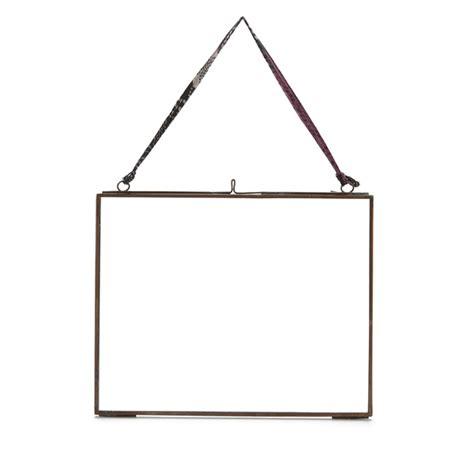 nkuku kiko glass frame antique copper landscape 8 quot x