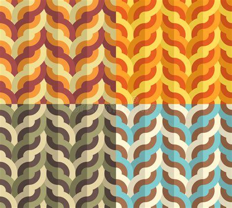 pattern color flat geometric weaving pattern royalty free stock photography