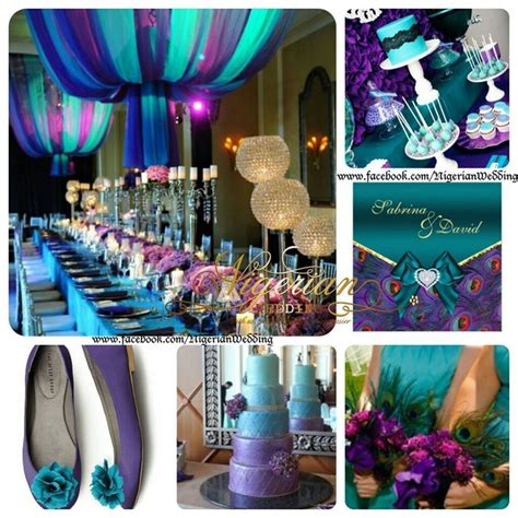 teal  purple color combo nigerianwest african