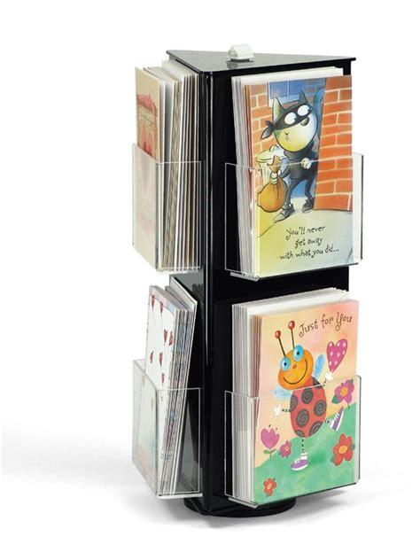 card display greeting card display upscale black acrylic