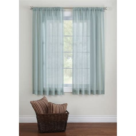 short sheer curtains better homes and gardens elise tonal stripe sheer curtain