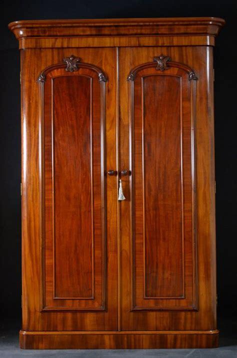 Victorian Double Wardrobe Mahogany Wardrobe Antiques Atlas Antique Closet Doors
