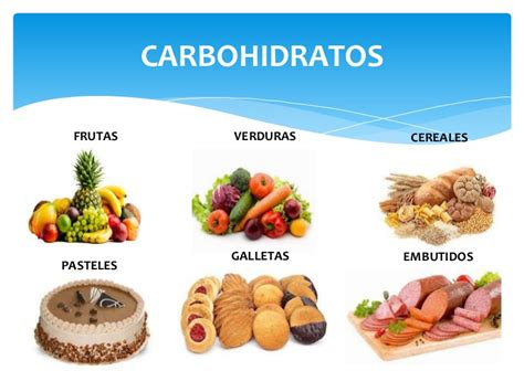 alimentos de carbohidratos carbohidratos
