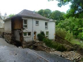 house flood quot storm s house quot flood damage dura den 169 kim traynor geograph britain and ireland