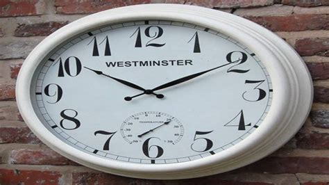 large outdoor clock large outdoor clocks commercial