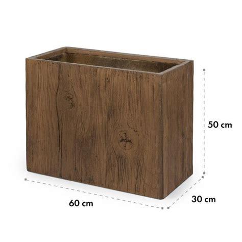 vasi vetroresina da esterno timerflor vaso 60 x 50 x 30 cm vetroresina esterno interno