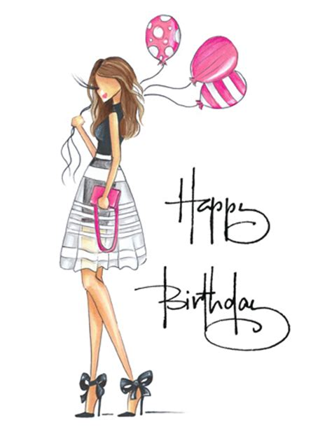 happy birthday fashion design brittany fuson paper shop greeting cards birthday