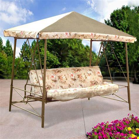 Backyard Creations Replacement Canopy Walmart Courtyard Creations Rus472w Swing Replacement