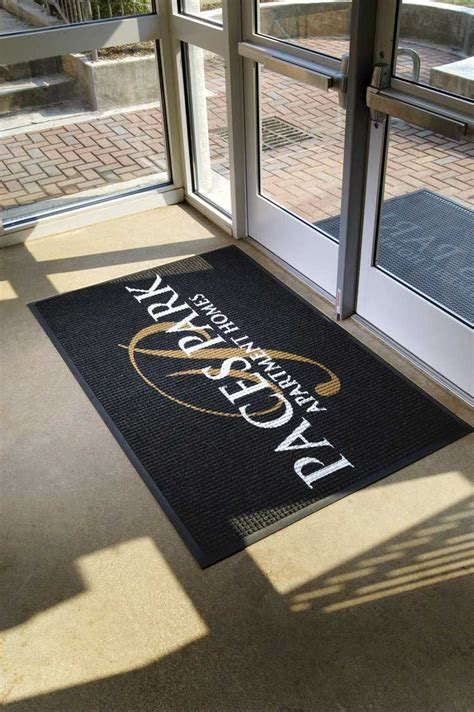 Personalized Mat by Waterhog Inlay Mat Custom Inlaid Logo Mat Personalized