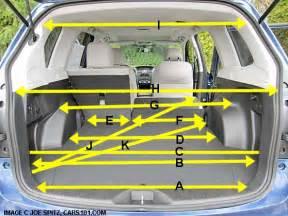 Subaru Forester Load Capacity 2015 Subaru Forester Research Webpage