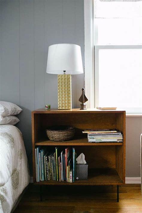 bookshelf nightstand bedroom from design sponge rooms diy