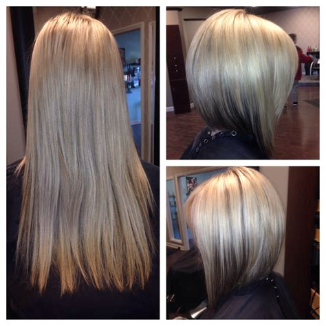 long bob haircuts before and after bob haircuts before and after short hairstyle 2013