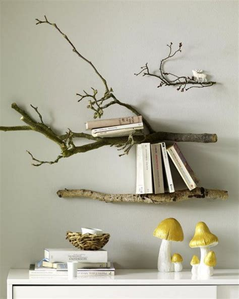 Tree Branch Decorations In The Home 24 Creative Ways To Decorate With Branches Brit Co