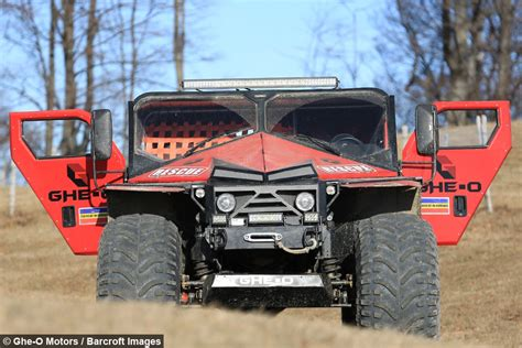 Rescue Car evolution of the atv rescue vehicle aims to revolutionise disaster response