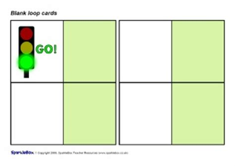 Blank Loop Cards Template by Editable Blank Loop Cards Sb1490 Sparklebox
