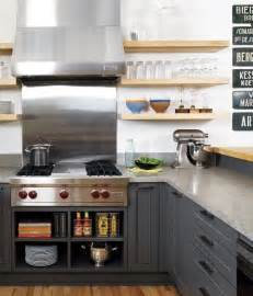open shelves cabinets open shelves with grey cabinets future house ideas