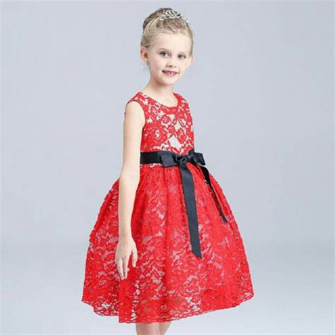 Mini Dress Anak Dress Perempuan baju dress brukat pesta anak perempuan model terbaru