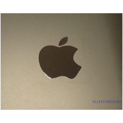 Apple Aufkleber Original by Apple Label Sticker Badge Logo Metal Chrome