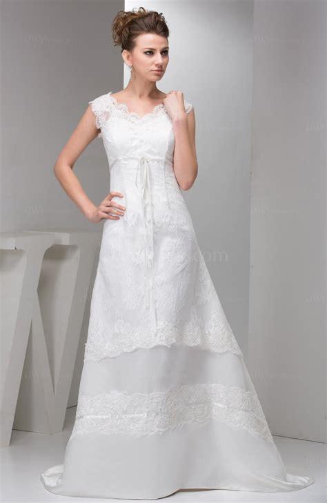 white lace bridal gowns modest disney princess classic