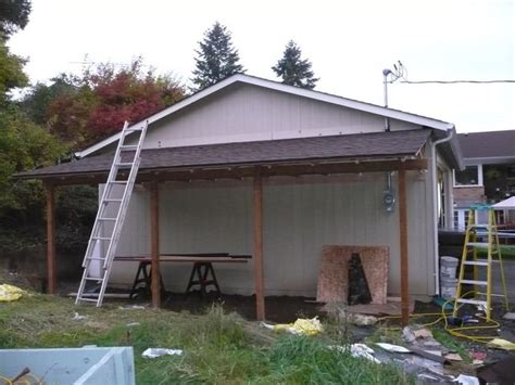 building a carport off side of house lean to garage off house www imgkid com the image kid has it