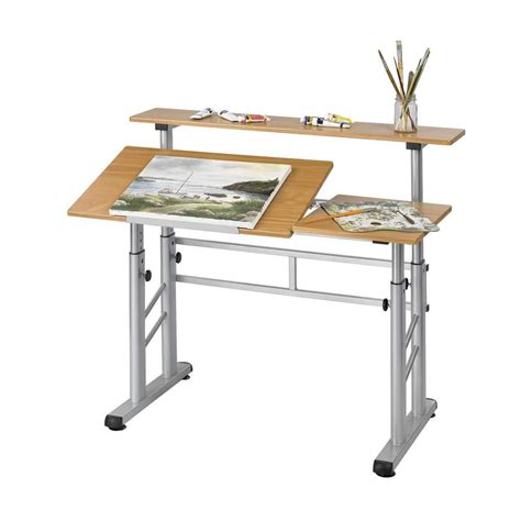 Safco Height Adjustable Split Level Drafting Table 3965mo Drafting Table Accessories