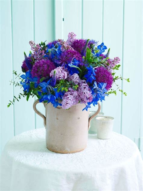 Wedding Bouquet Extract by Purple And Blue Tie Bouquet 183 Extract From Simple