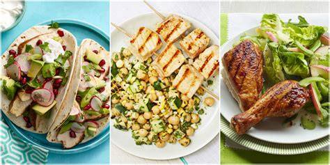 best dinners 60 best summer dinner recipes and easy summer meal