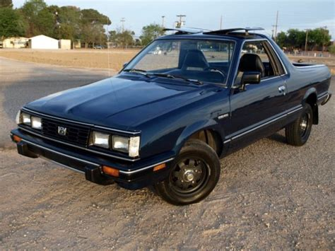 1986 subaru brat interior 1986 subaru brat runs well excellent paint and