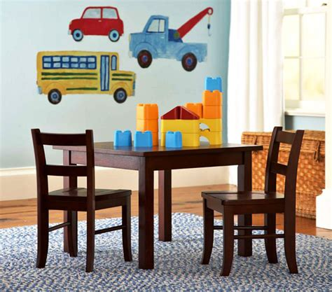 childrens playroom table and chairs playroom furniture set