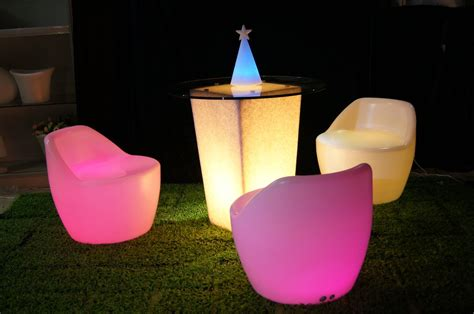 glow in the wedding reception furniture onewed