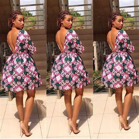 latest short ankara gown latest and creative asoebi ankara style short gown 2015