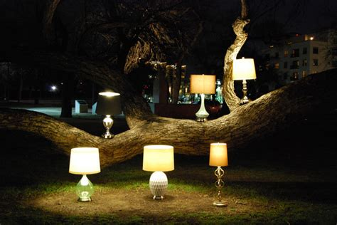 Eco led cordless battery operated table lamps lighting dallas
