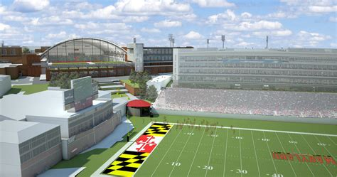 cole field house after cole field house renovations maryland football will get to the stadium by