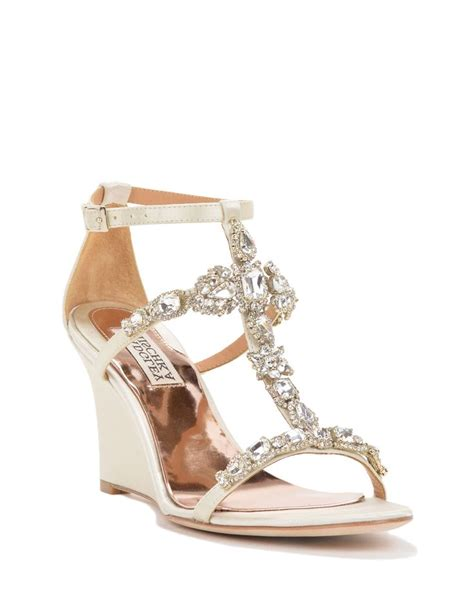 wedding wedge sandals for strappy wedge evening shoe 225 come in gold