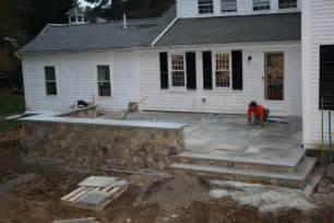 elevated concrete patio raised patio masonry picture post contractor talk