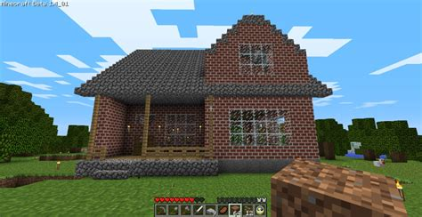 minecraft stone brick house designs cozy 2 story brick house minecraft house design