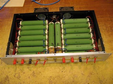 wirewound resistor dummy load simulatore di carico alimentatore pctuner forum