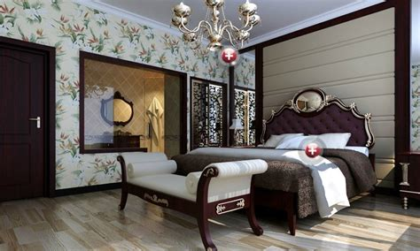 bedroom interior design for the elderly by european style