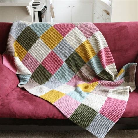Patchwork Blanket Knitting Pattern - creating paper dreams tutorial tuesday knitted patchwork