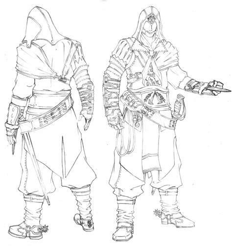 Assassin's Creed #27 (Jeux Vidéos) ? Coloriages à imprimer